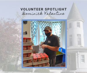 Volunteer Spotlight on Dominick Valentine